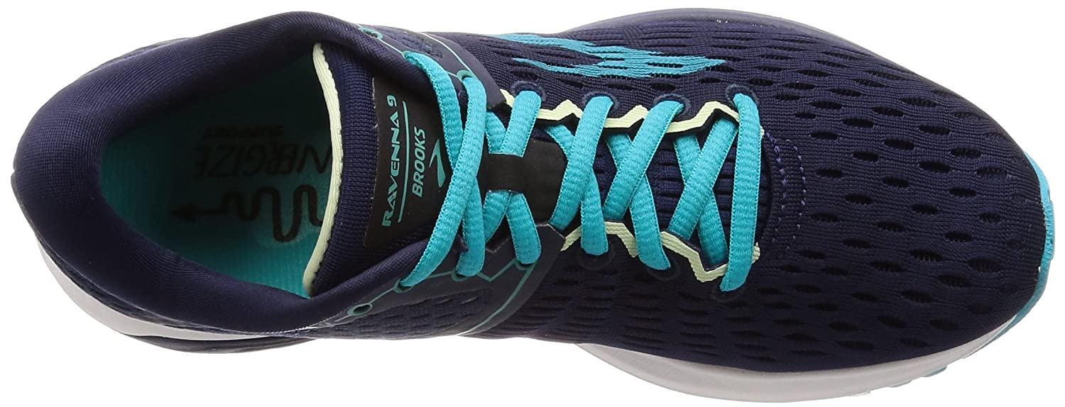 Brooks Womens Ravenna 9 B0714429F3 12 B(M) US|Navy/Blue/Green