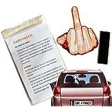 Car Finger Finger , witziges und lustiges Auto - Zubehör für den Scheibenwischer - Das ideale Geschenk für Geburtstag, Führerschein oder andere Feiertage egal ob für Mann , Frau oder Kind