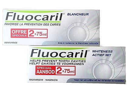 Fluocaril Duplo Pasta Blanqueadora - Pasta de dientes 4 x 75ml