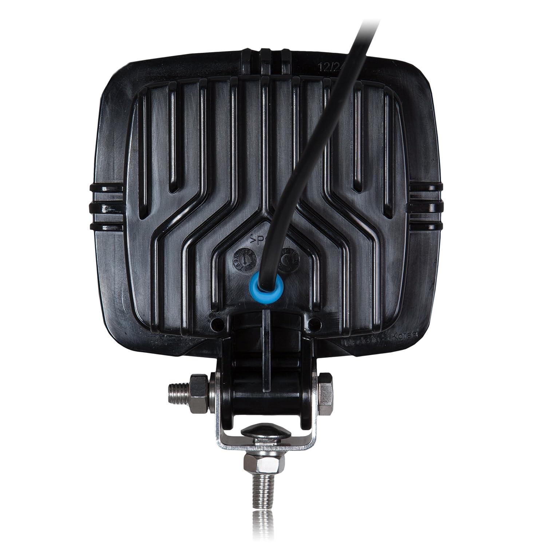 Maxxima MWL-26-A Black Rectangular 15 LED Work Light 550 Lumens