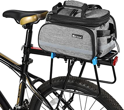 Waterproof Outdoor Travel Bicycle Bike Seat Rack Large Bag Folded Pack Pannier