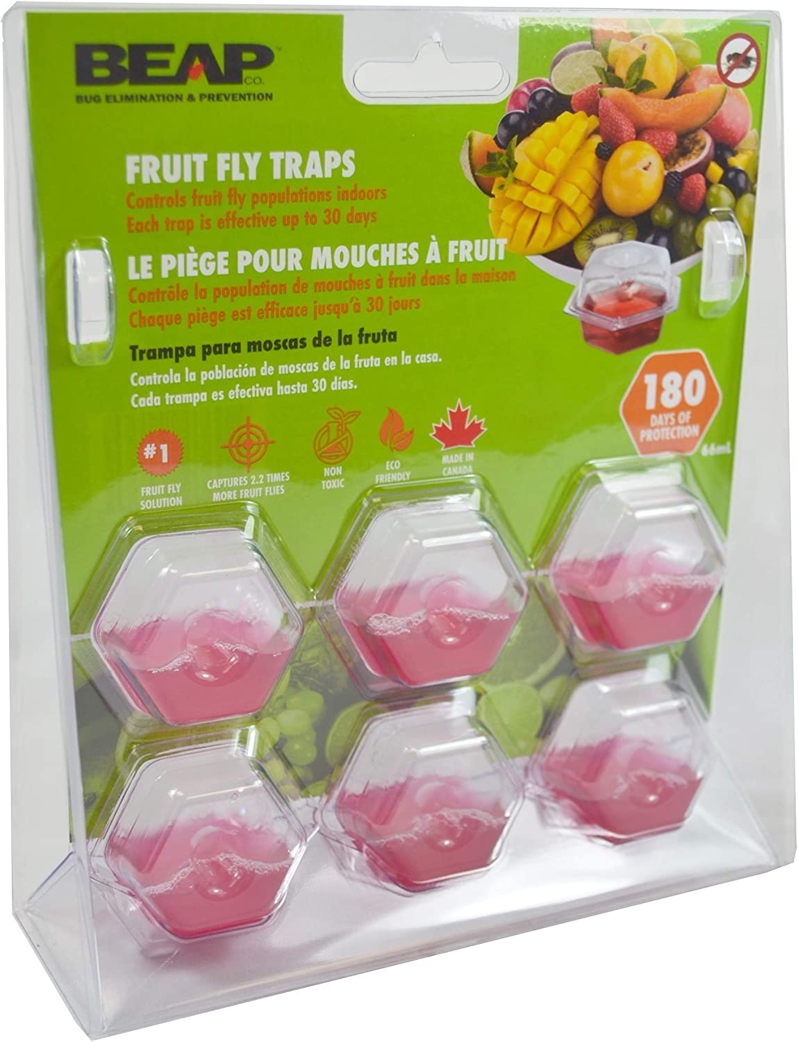 Fruit Fly Trap Killer Plastic Drosophila Trap Fly Catcher pest Insect controlÖÖ