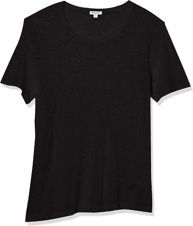 Details about  /Splendid Women/'s Split Neck Crewneck Short Sleeve Choose SZ//color
