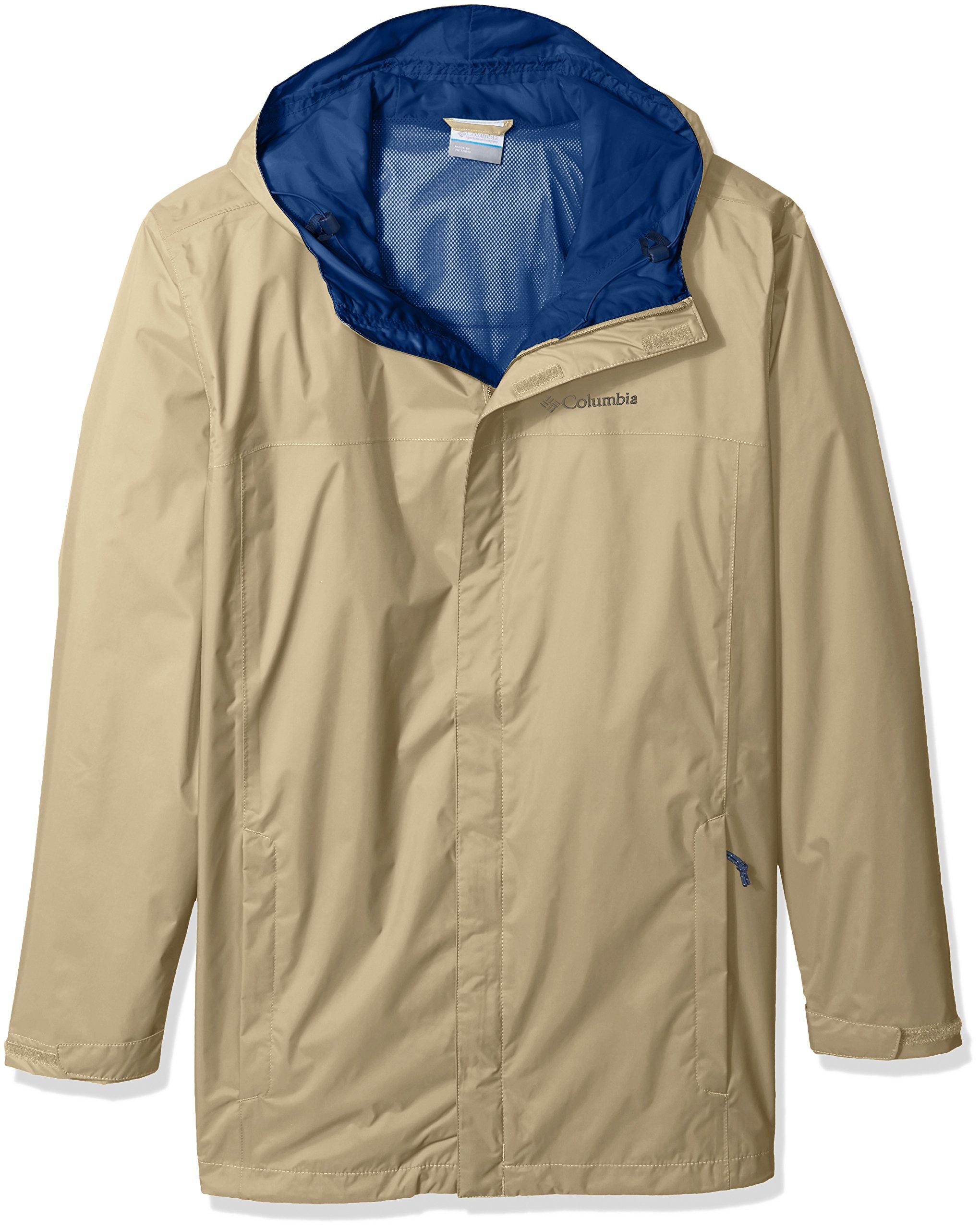 Columbia Men's Big and Tall Watertight Ii Jacket, British Tan 3X