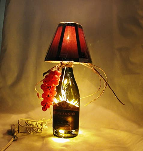 Amazon wine bottle table lamp crafted from a recycled concannon wine bottle table lamp crafted from a recycled concannon vineyard chardonnay wine bottle shipping is aloadofball Choice Image
