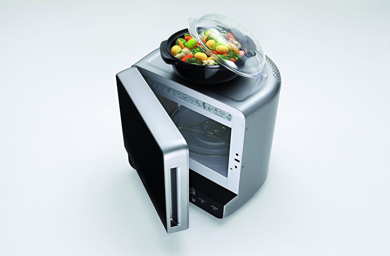 Whirlpool MAX 38 SL - Horno microondas (13 L, 700 W, función Jet Start, sistema 3D), color plateado