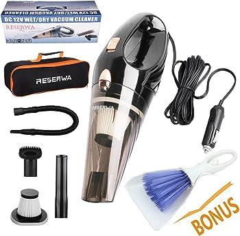 Reserwa 12-volt 106-watt Wet/Dry Car Vacuum Cleaner