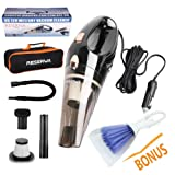 Amazon Price History for:Reserwa Car Vacuum 12V 106W Wet&Dry Car Vacuum Cleaner Portable Car Handheld Vacuum 16.4FT(5M) Power Cord with 2 HEPA Filters and One Carry Bag and One Cleaning Brush(Black)