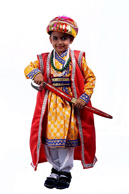 Buy Sbd Historical King Akbar Badshah Mythological Fancy Dress