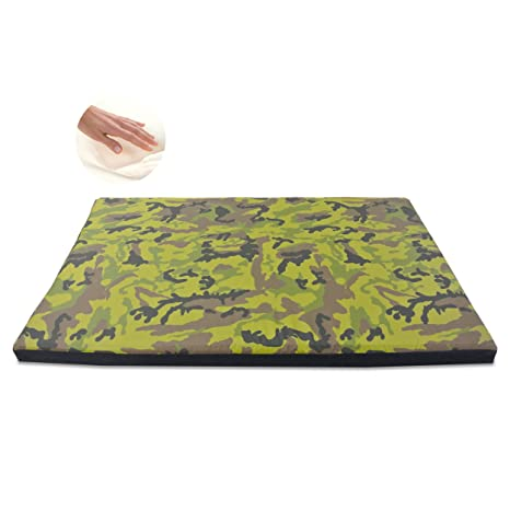 Baldiflex, colchón desenfundable Johnny, Caseta Cama Cojín Suave Para Perro H 10 cm