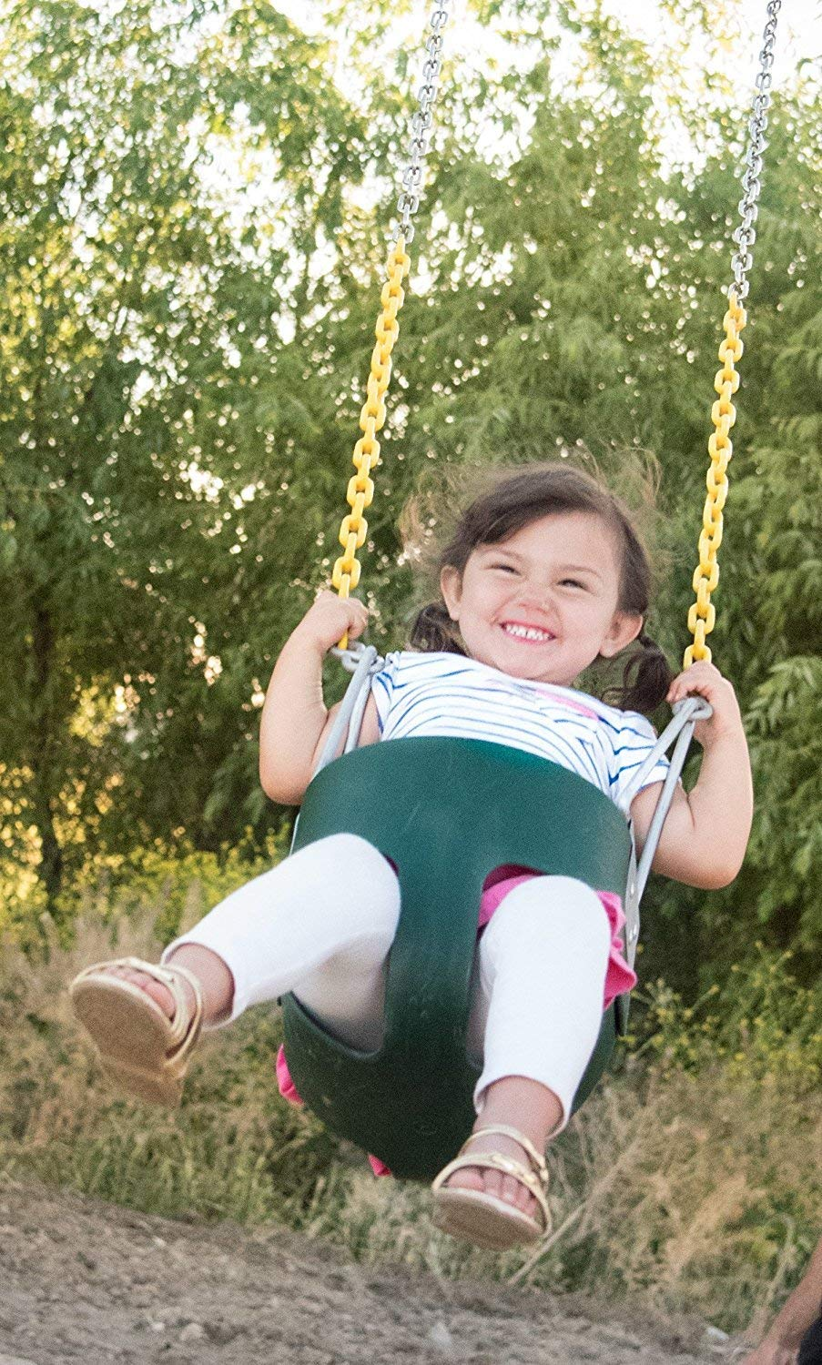 High Back Full Bucket Swing and Heavy Duty Swing Seat - Swing Set Accessories by Squirrel Products (Image #4)