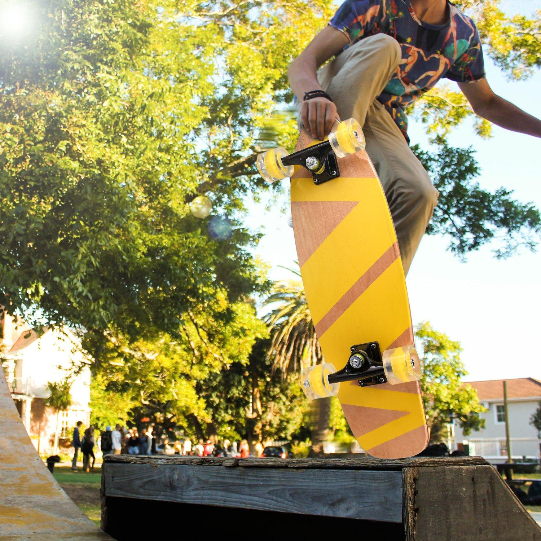 """Ancheer 27"""" Cruiser Skateboard..."""