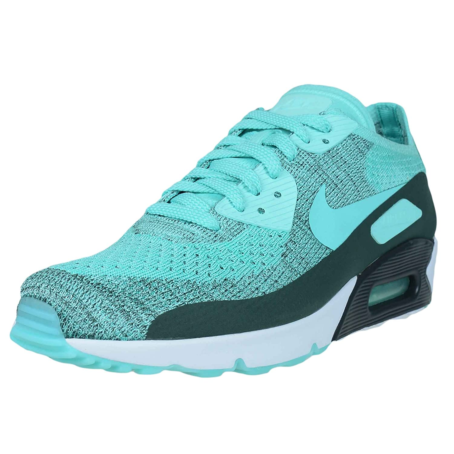 0386e40136 Amazon.com | Nike AIR MAX 90 Ultra 2.0 Flyknit Hyper Turquoise Mens Running 875943  301 | Fashion Sneakers