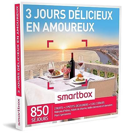 Smartbox – Caja de Regalo – Evasion savoureuse en amoureux – 3 días – 255 destinos
