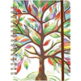 """2021-2022 Planner - Academic Planner, Weekly & Monthly Planner with Tabs, 6.5"""" x 8.5"""", Jul. 2021 - Jun. 2022, Hardcover with"""