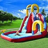 Costway Moonwalk Kids Inflatable Bouncy Castle House Bouncer Water Slide Jumper Garden (Bouncy Castle only)