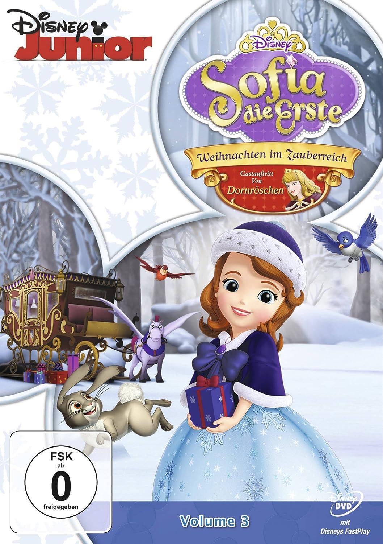 Sofia die Erste, Volume 3 - Weihnachten im Zauberreich: Amazon.de ...