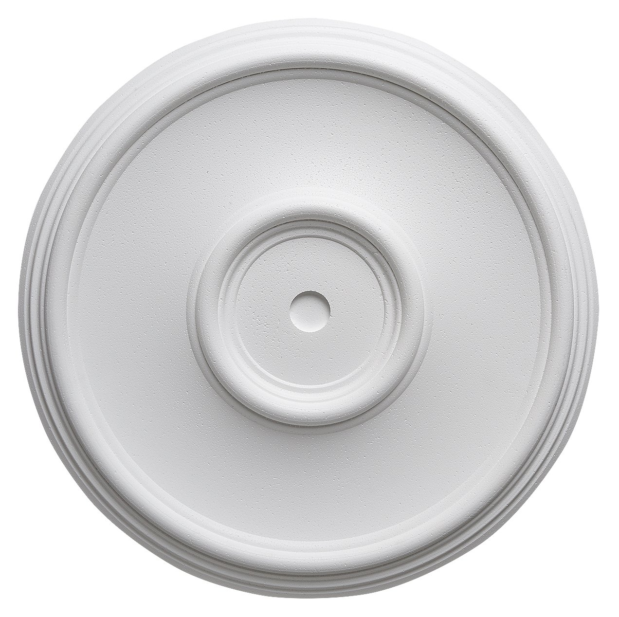 4 St/ück /à /Ø 35 cm individualisierbare Deckenrosette wei/ß DECOSA Rosette Elsa Stuckrosette aus Styropor
