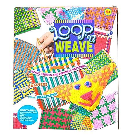 Amazoncom Felice Girl Kids Diy Knitting Creative Loop Wave