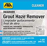 FILA DETERDEK, Grout Haze Remover and Grout Cleaner for Porcelain Tile, Hard Surface Floor, Ceramic Tile, Terracotta, Acid Resistant Stone, Eco-friendly, 1 QT