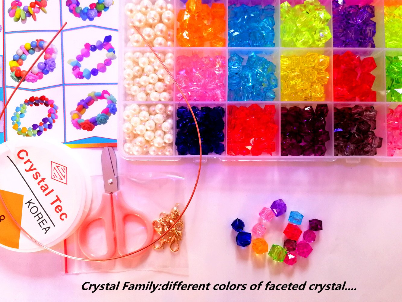 Vytung Beads Set for Jewelry Making Kids Adults Children Craft DIY ...