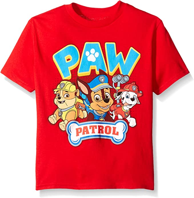 Paw Patrol Ready Action Short Sleeve T Shirt