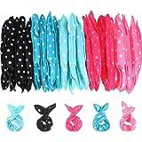 40 Pieces Hair Rollers DIY Hair Styling Rollers Tools Soft Sleep Foam Pillow Hair Curler Rollers Sponge (Color Set 1)
