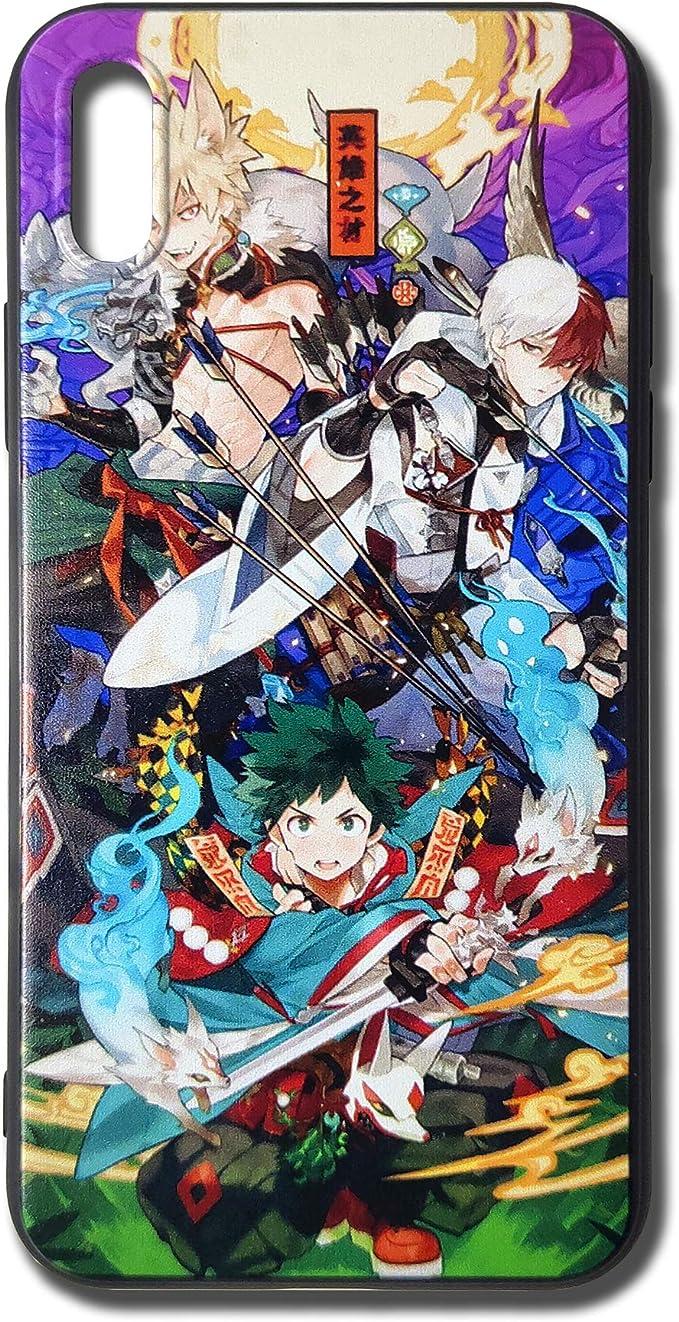 Deku - Cover per iPhone X, motivo: My Hero Academia classe 1A
