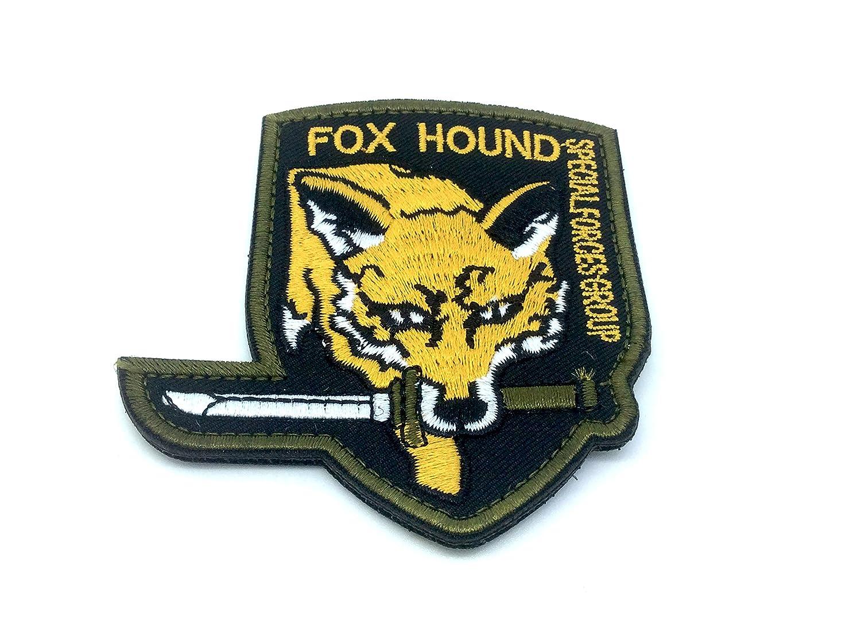 FoxHound Special Force Group, toppa ricamata, per softair, giallo (lingua italiana non garantita) Patch Nation