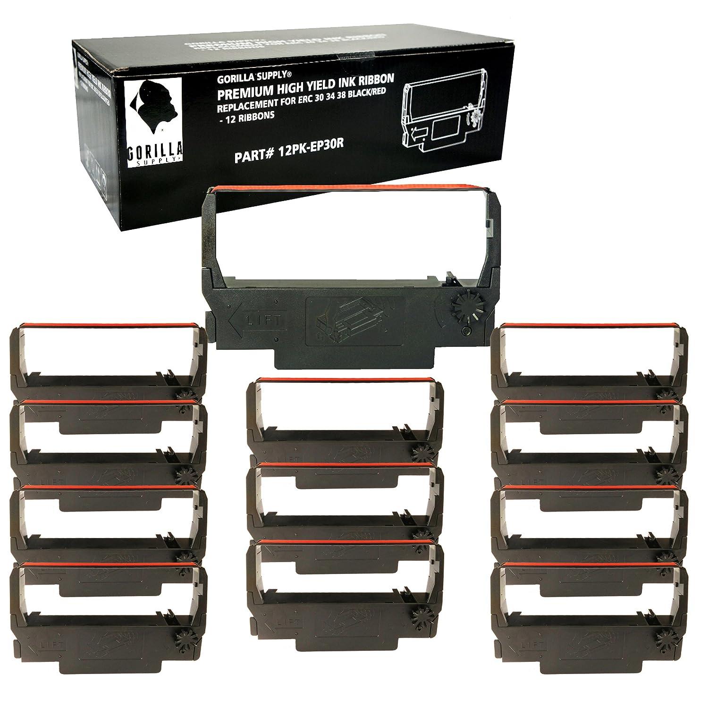 Samsung Bixolon RRC201BR SRP-270 SRP-275 Ink Ribbon Black//Red