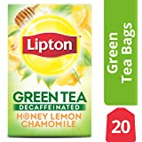 Lipton Green Tea Bags Pure 20 Ct Pack Of 6 Amazon Com