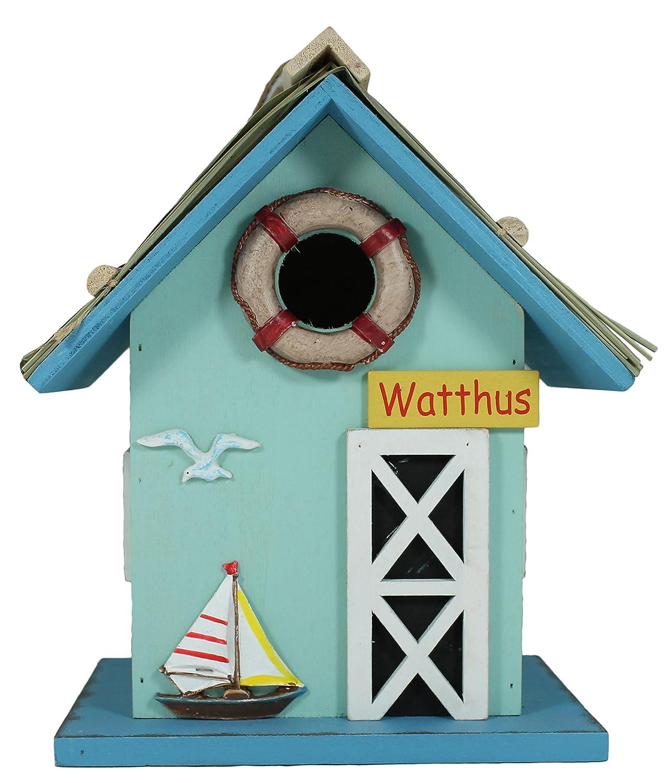 Nichoir en bois certifié FSC watthus nist Maison Mangeoire nist Maison Villa colourliving
