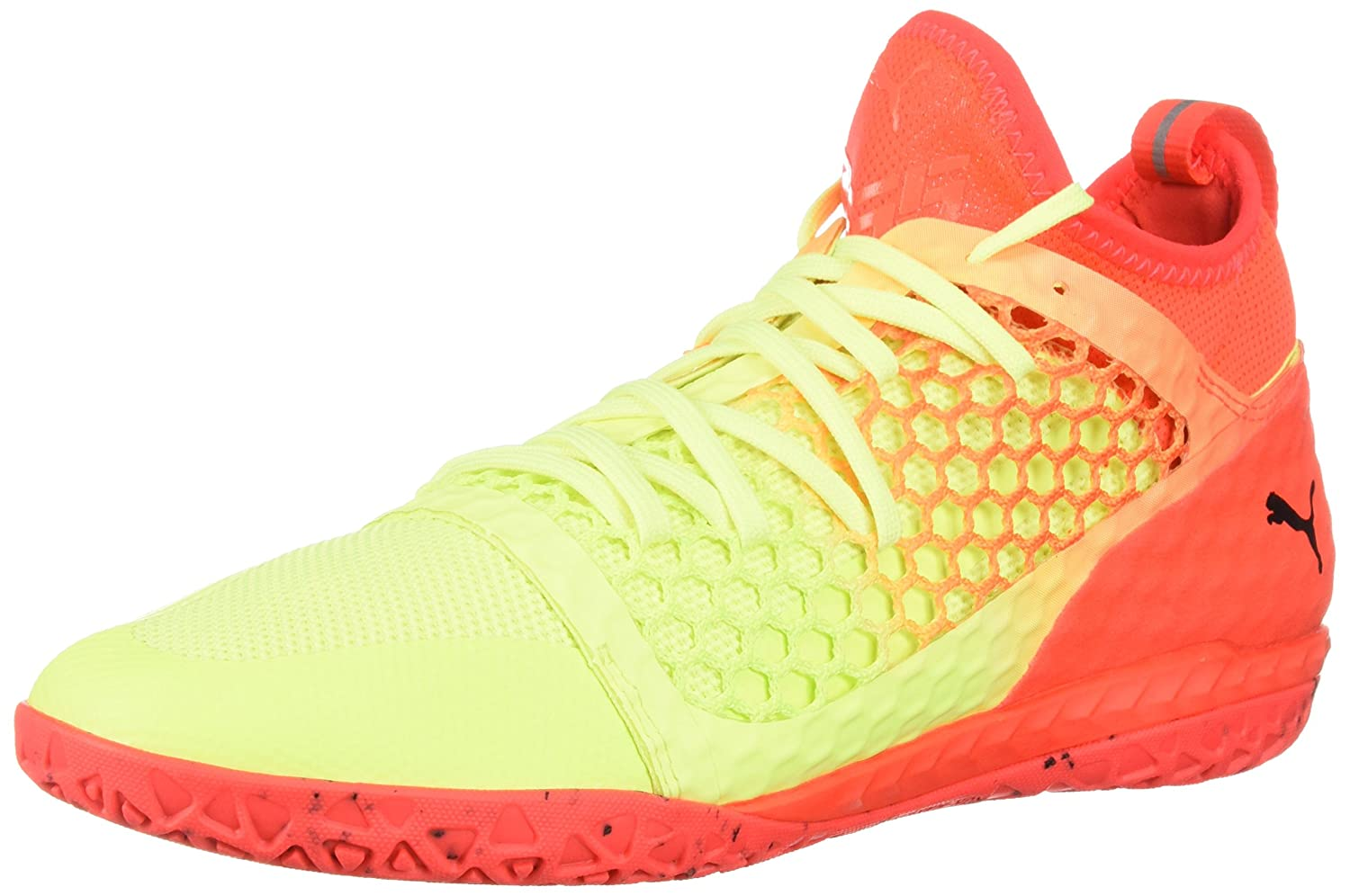 Puma Herren 365 Ignite Netfit CT Schuhe  42 EU D(M) |Fizzy Yellow-red Blast-puma Black