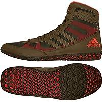 Adidas Mat Wizard David Taylor Edition Wrestling zapatos gris-negro-blanco