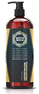 Active Wow Argan Oil & Organic Botanicals Anti Hair-Loss Shampoo