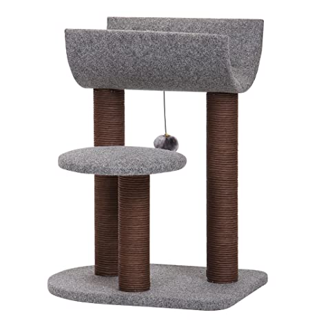 Amazon.com: Petpals - Torre para gato con rascador de arena ...