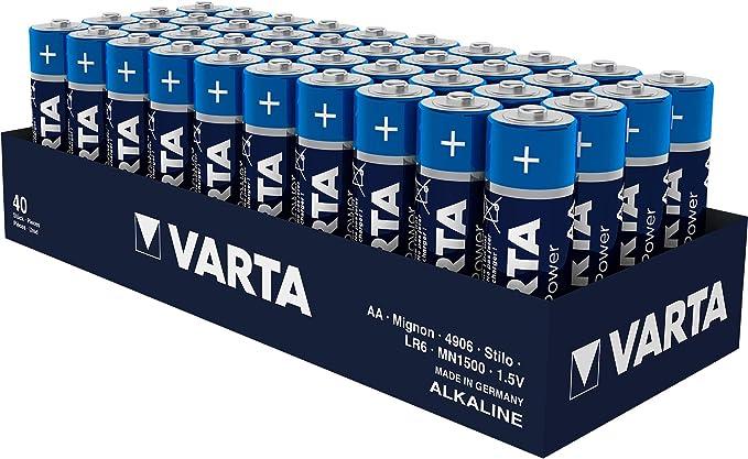 Batterien Varta 4906 Alkaline Mignon Aa Lr06 1 5v Elektronik