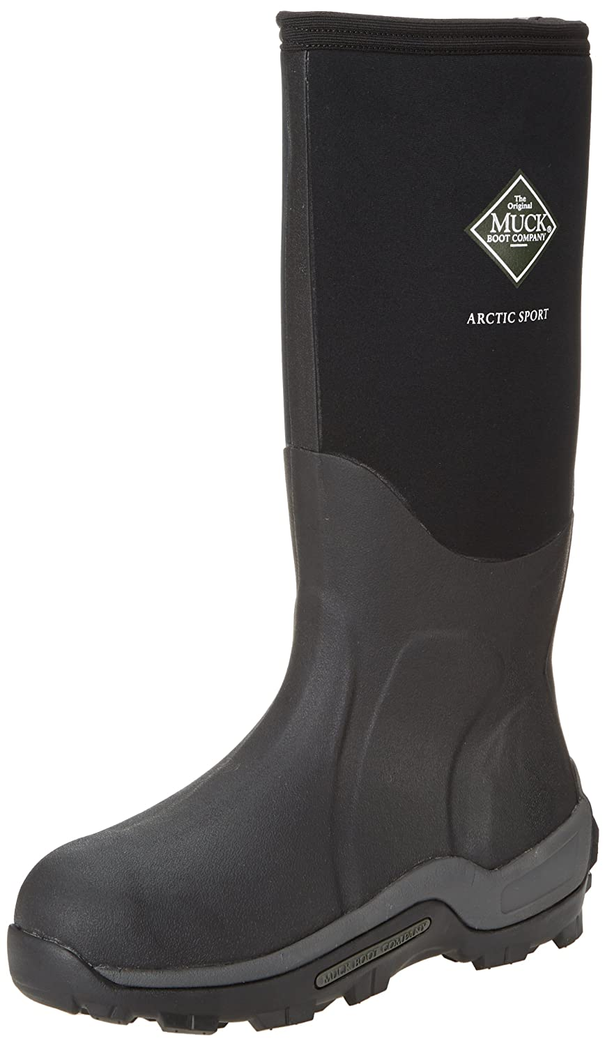 The Original MuckBoots Adult Arctic Sport Boot B000WG7B72 Men's 12 M/Women's 13 M|Black
