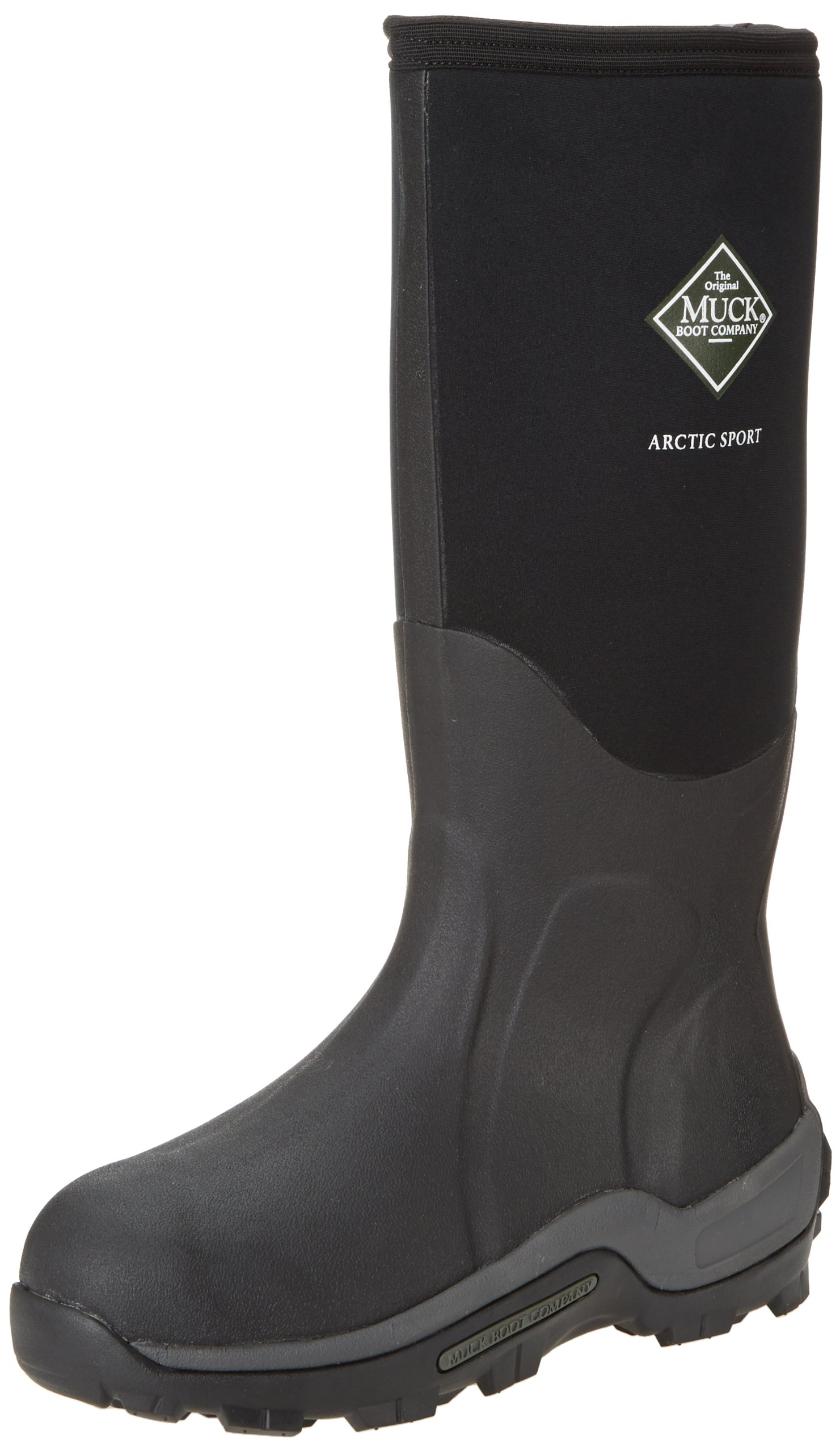 Muck Arctic Sport Rubber High Performance Men's Winter Boots, Black, 9M US by Muck Boot