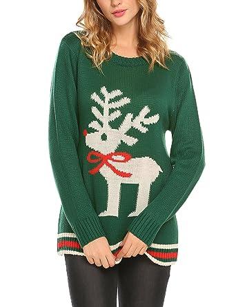 Unibelle Women S Ugly Christmas Sweater Vintage Cute Reindeer