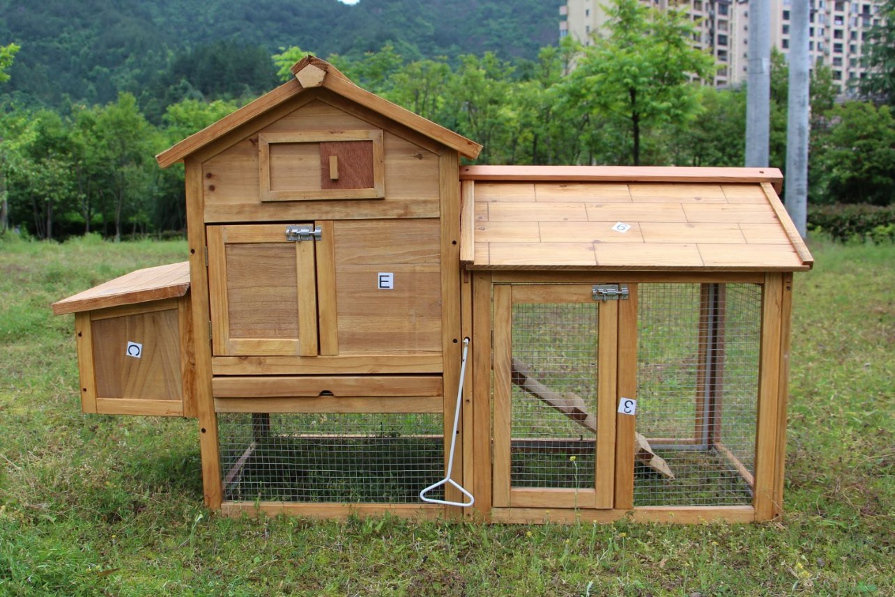 Chicken Poultry Coop Hen House Rabbit Hutch Cage-SMALL 0313S, Not Applicable by MCombo