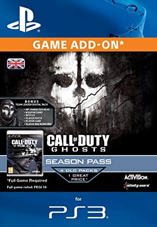 Call of Duty: Ghosts Season Pass [PS3 PSN Code - UK account]: Amazon