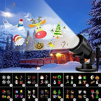 Albrillo Luces de Proyección LED para Navidad - Lámpara de ...