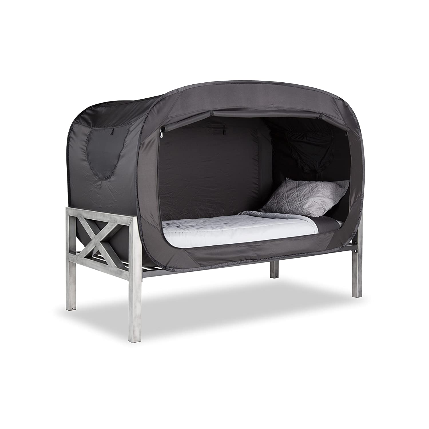 sc 1 st  Amazon UK & Privacy Pop Bed Tent (Full) - BLACK: Amazon.co.uk: Kitchen u0026 Home