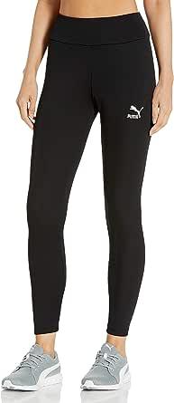 PUMA Women's Classics Ribbed Leggings, Black