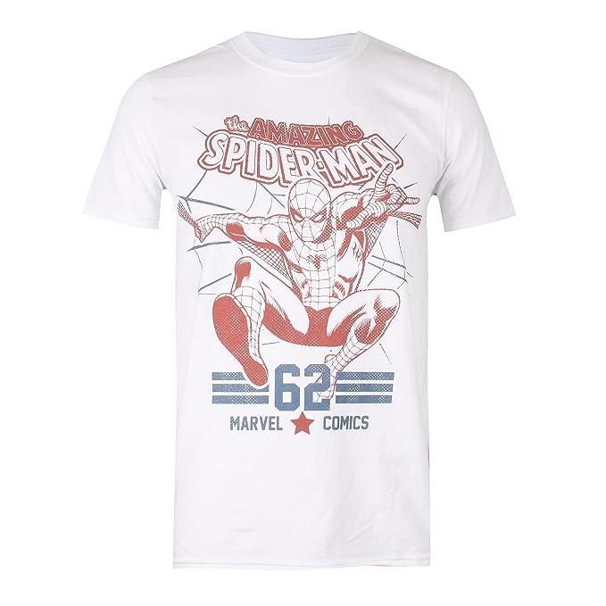 Marvel Spidey Two Tone, Camiseta para Hombre: Amazon.es: Ropa y accesorios