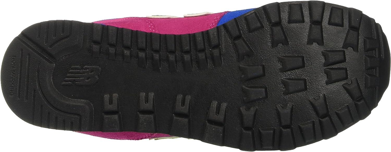 New Balance Unisex-Kinder Kl574wjp M Sneakers Blau / Fuchsia
