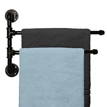 Amazoncom Outdoor Towel Rack For Pool Or Bathroom Use 2 Arm
