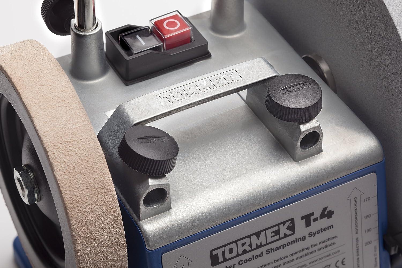 Lijadora en h/úmedo con dispositivo SE-77 para corte recto Tormek T4