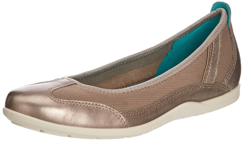 Moon Rock ECCO shoes Women's bluema Ballerina Flat